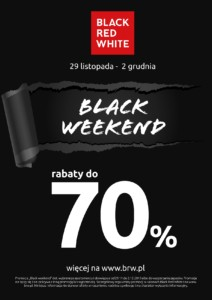 Gazetka Black Red White Black Friday od 29.11.2019 do 02.12.2019