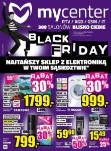 Gazetka My Center Black Friday od 28.11.2019 do 05.12.2019