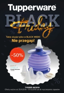 Gazetka Tupperware Black Friday od 25.11.2019 do 30.11.2019