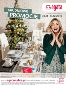 Gazetka Agata Meble od 30.11.2019 do 15.12.2019