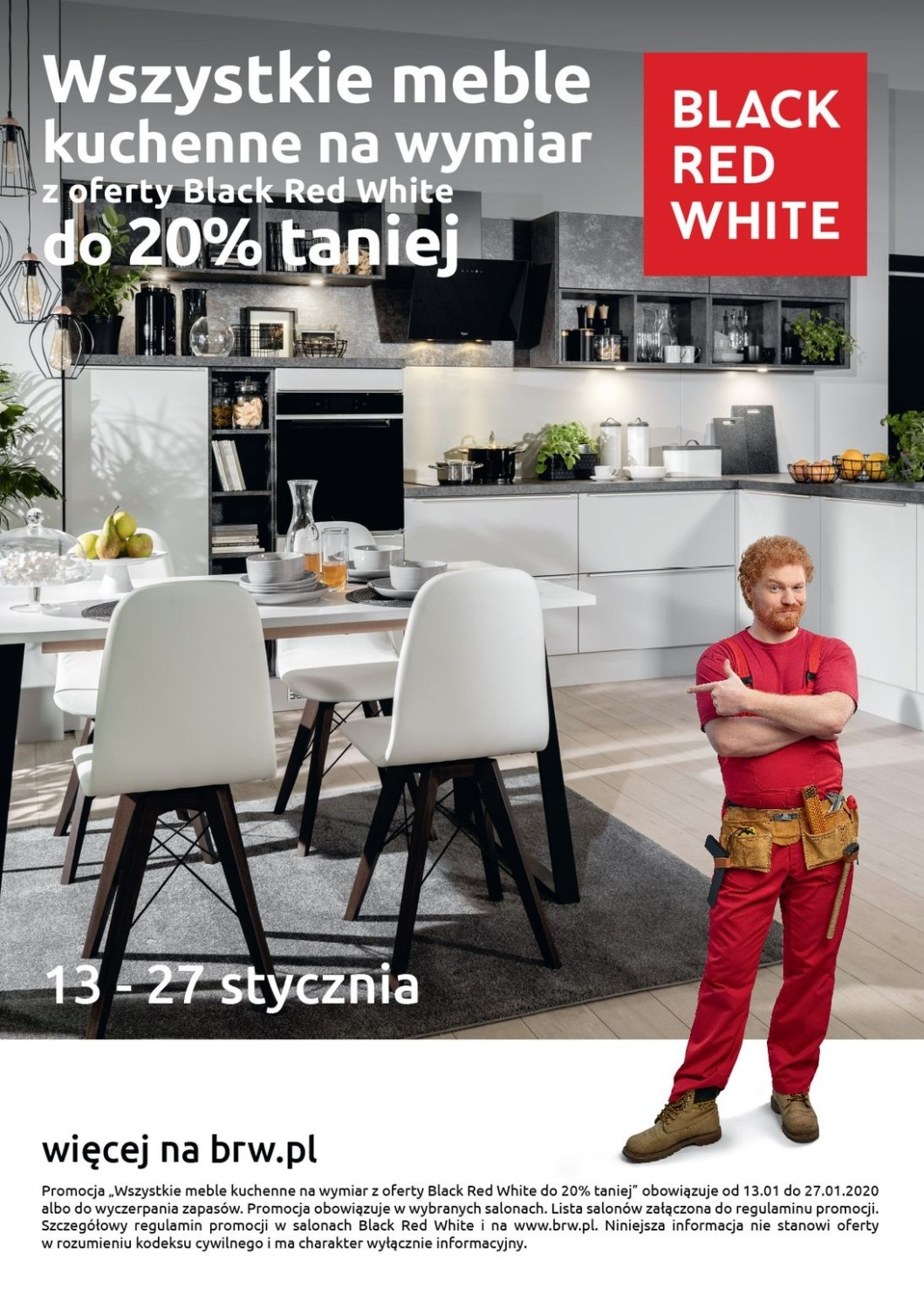 Gazetka Black Red White od 13.01.2020 do 27.01.2020
