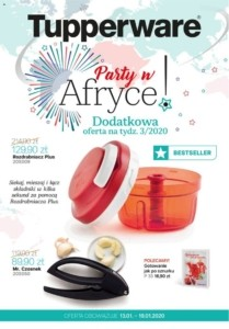 Gazetka Tupperware od 13.01.2020 do 19.01.2020
