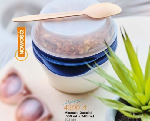 Gazetka Tupperware od 30.03.2020 do 03.05.2020