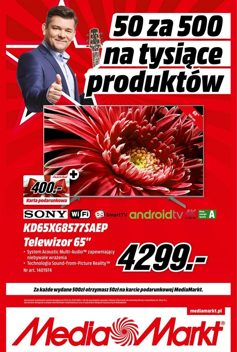 Gazetka Media Markt od 23.07.2020 do 29.07.2020