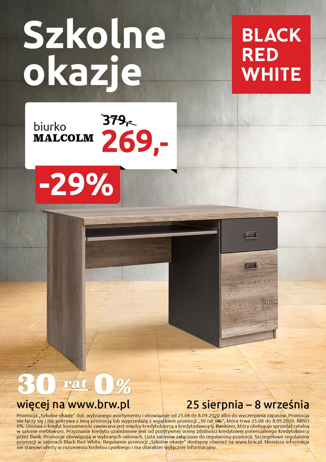 Gazetka Black Red White od 25.08.2020 do 08.09.2020